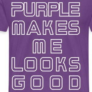 purple T-Shirts - Men's Premium T-Shirt