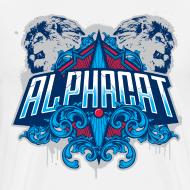 Design ~ Alphacat Men's 3XL/ 4XL Tee