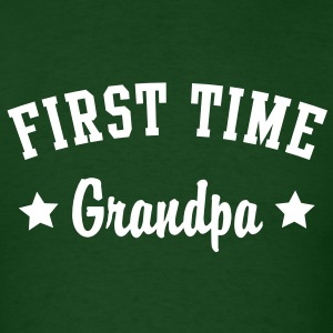 FIRST TIME Grandpa Shirt WG - Men's T-Shirt