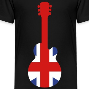 Great Britain Guitar Toddler Shirts - Toddler Premium T-Shirt