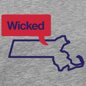 Massachusetts Wicked Shirt - Men's Premium T-Shirt