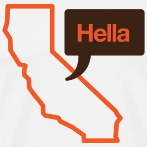 Hella California Shirt - Men's Premium T-Shirt