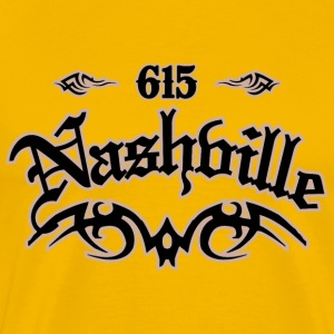 Nashville 615 Heavyweight T-Shirt - Men's Premium T-Shirt