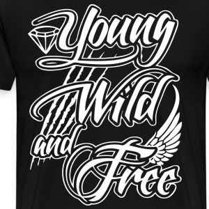 Young, Wild, and Free T-Shirts - stayflyclothing.com - Men's Premium T-Shirt