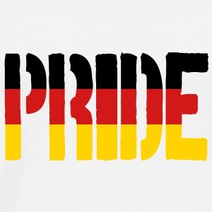 PRIDE Germany Flag, Proud to be German - Men's Premium T-Shirt