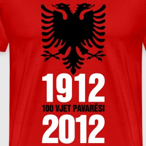 1912-2012, 100 VJET PAVERESI - Men's Premium T-Shirt