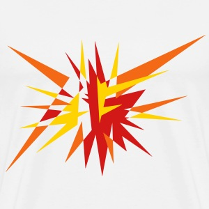Explosion and rays T-Shirts - Men's Premium T-Shirt