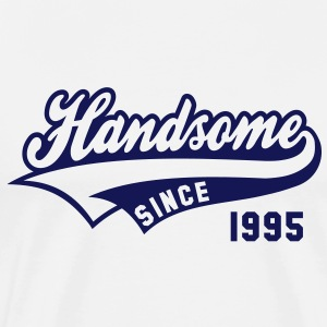 Handsome since 1995 Birthday Anniversary Shirt NW - Men's Premium T-Shirt