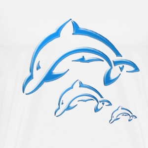 Dolphin family - Men's Premium T-Shirt