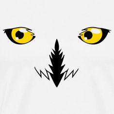 REALISTIC snowy owl eyes very effective!  T-Shirts