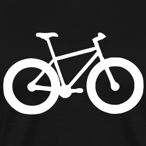 Fatbike Bicycle T-shirt - Men's Premium T-Shirt