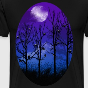 OWL MOON T-Shirts - Men's Premium T-Shirt