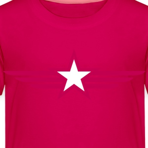 SHARP shape red and BLACK star outlined with wings Baby & Toddler Shirts - Toddler Premium T-Shirt