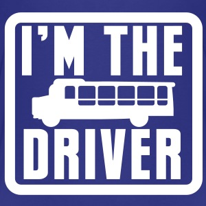 I'm the school bus driver in a rounded square Baby & Toddler Shirts - Toddler Premium T-Shirt