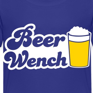 BEER WENCH beers server Toddler Shirts - Toddler Premium T-Shirt