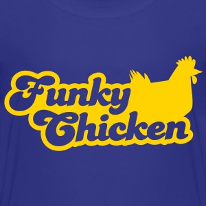 FUNKY CHICKEN with a hen image super cute! Baby & Toddler Shirts - Toddler Premium T-Shirt
