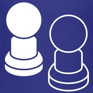 two pawns CHESS pieces Baby & Toddler Shirts - Toddler Premium T-Shirt