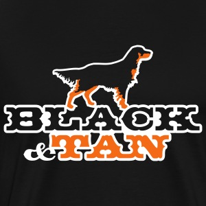 black_and_tan T-Shirts - Men's Premium T-Shirt