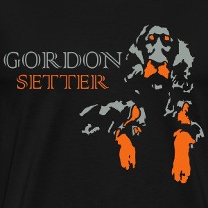 gordon setter - Men's Premium T-Shirt