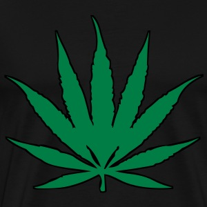 420 Pot Leaf T-Shirts - Men's Premium T-Shirt