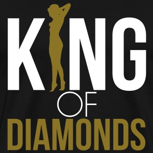 KING OF DIAMONDS T-Shirts - Men's Premium T-Shirt