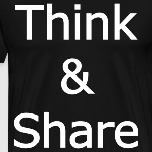 Think_&_Share - Men's Premium T-Shirt