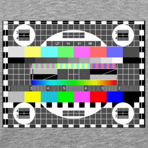 Tv test signal - Men's Premium T-Shirt