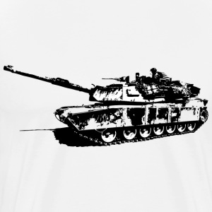 Abrams Tank - Mens - Men's Premium T-Shirt
