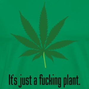 Just A Plant Heavyweight T-Shirt - Men's Premium T-Shirt