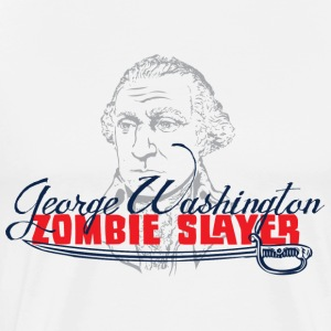 George Washington Zombie Slayers - Men's Premium T-Shirt