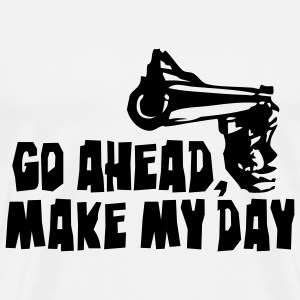 make_my_day_2 T-Shirts - Men's Premium T-Shirt