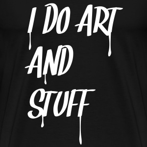i_do_art_and_stuff T-Shirts - Men's Premium T-Shirt