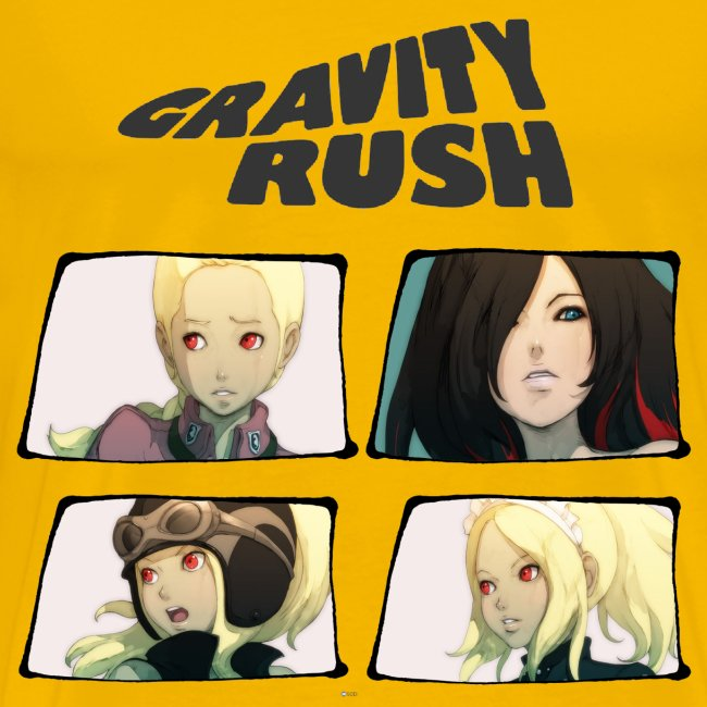 Gravity Rush Comic
