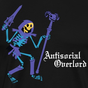 Antisocial Overlord T-Shirts - Men's Premium T-Shirt