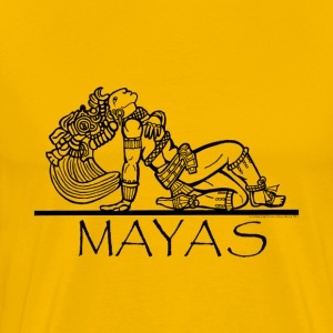 Mayan Chief  T-Shirts - Men's Premium T-Shirt