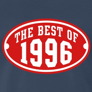 THE BEST OF 1996 2C Birthday Anniversary T-Shirt - Men's Premium T-Shirt