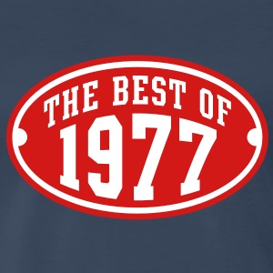 THE BEST OF 1977 2C Birthday Anniversary T-Shirt - Men's Premium T-Shirt