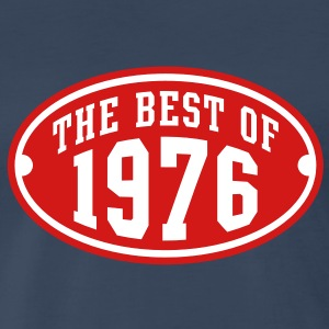THE BEST OF 1976 2C Birthday Anniversary T-Shirt - Men's Premium T-Shirt