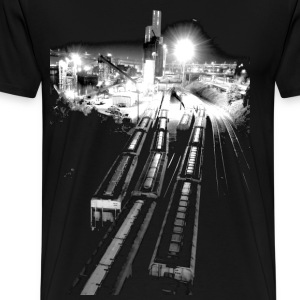 The Railyard - Men's Premium T-Shirt