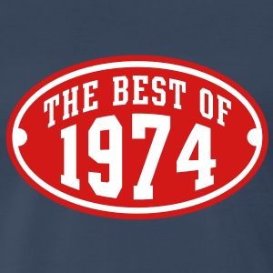 THE BEST OF 1974 2C Birthday Anniversary T-Shirt - Men's Premium T-Shirt