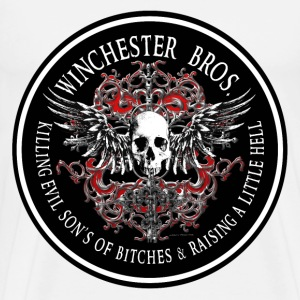 Winchester Bros Ring Patch 2 T-Shirts - Men's Premium T-Shirt