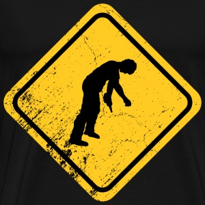 Drunk Crossing - Men's Premium T-Shirt