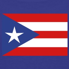 flag Porto Rico Kids' Shirts