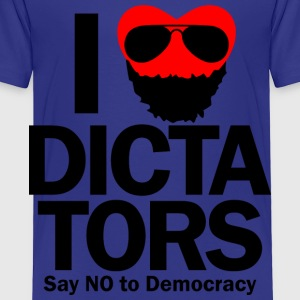 I HEART DICTATORS Toddler Shirts - Toddler Premium T-Shirt