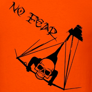 hanggliding skull - no fear T-Shirts - Men's T-Shirt