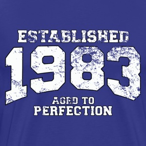 established_1983 T-Shirts - Men's Premium T-Shirt
