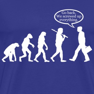 *Funny* Evolution FAIL! - Men's Premium T-Shirt