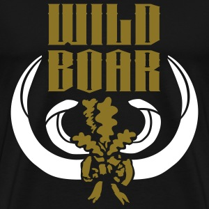 trophy_wildboar T-Shirts - Men's Premium T-Shirt