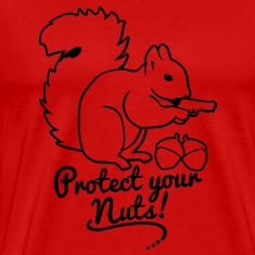 protect your nuts T-Shirts