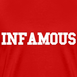 INFAMOUS [official] T-Shirts - Men's Premium T-Shirt